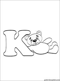 Letter K Kleurplaat Gratis Kleurplaten