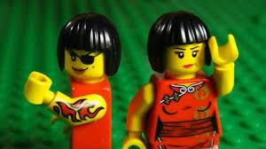 LEGO NINJAGO - NYA V'S EVIL NYA - YouTube