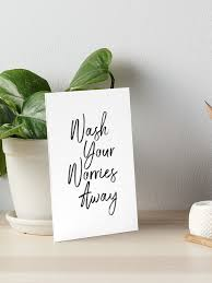 Wash Your Worries Away Art Board Print By Rofocreative Redbubble