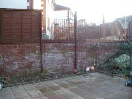 Wooden Fence On Brick Wall Diynot Forums