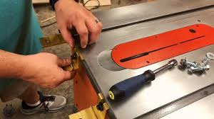 Installing The Incra Ts Ls Positioner On A Ridgid R4512 Table Saw Woodworking