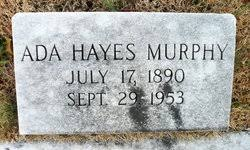 Ada Florence Hayes Murphy (1890-1953) - Find A Grave Memorial