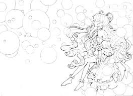 Bubble Prinses Kleurplaat Gratis Kleurplaten Printen