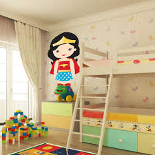 Shop Full Color Supergirl Childrens Room Girl Full Color Wall Decal Sticker Sticker Decal Size 48x76 Frst On Sale Overstock 15114568