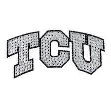 Tcu Horned Frogs Bling Car Auto Emblem Adhesive Decal