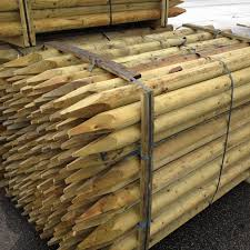 Wooden Fence Stakes Tree Stakes Suregreen
