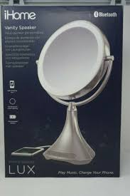 portable double sided vanity mirror