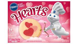 shape hearts sugar cookies