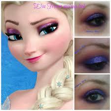 elsa frozen inspired makeup look