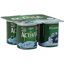 4 oz activia light fat free yogurt 4 ct
