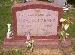 Gracie West Garner (1900-1952) - Find A Grave Memorial
