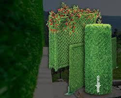 Artificial Grass Fence Panel Hedge Panels Integral Integral Grass