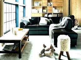 alluring leather living room ideas