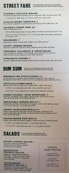 p f chang s menu with slc menu