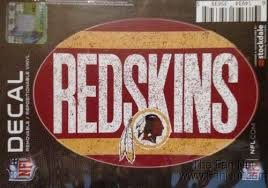 Washington Redskins 5 X7 Vintage Repositionable Vinyl Decal Auto Home Football Sports Mem Cards Fan Shop Football Nfl Romeinformation It