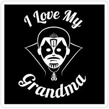 Amazon Com King Diamond Love My Grandma Them King Diamond Kd Mercyful Fate Love My Grandma Decal Sticker Sticker Graphic Auto Wall Laptop Cell Truck Sticker For Windows Cars Trucks