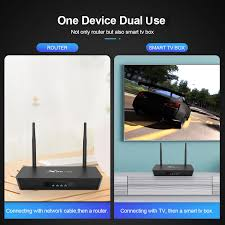 Smart Internet TV Box X96 Link Router WIFI 4k Feature Android 7.1 ...