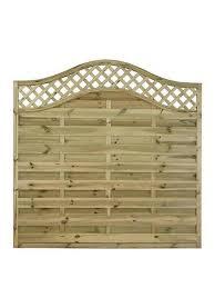 Garden Fences Fence Panels Gates Very Co Uk