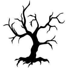Amazon Com Vinyl Wall Decal Sticker Large Spooky Tree Ac122 Everything Else