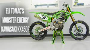 Inside Eli Tomac S Factory Monster Energy Kawasaki Kx450f Motocross Action Magazine Youtube
