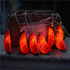 Wholesale Battery Powered Led String Lights Watermelon String Fairy Light For Party Bedroom Kid Room Home Decoration From China