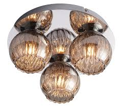 endon aerith 3 light flush ceiling