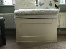 ikea alve seat storage bench ottoman