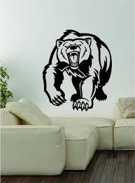 Bear V4 Wall Decal Sticker Vinyl Art Home Decor Decoration Wild Animal Boop Decals