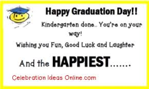 easy graduation party idea works from kindergarten to college