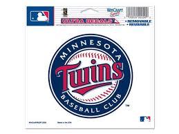 Minnesota Twins Official Logo 4x6 Ultra Decal Newegg Com