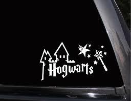 Hogwarts Castle Harry Potter Vinyl Decal Phone Decal Laptop Decal Wall Decal Car Decal Phone Decals Hogwarts Castle Vinyl Decals