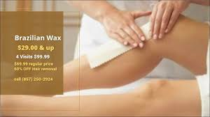 brazilian wax just 29 00 this month