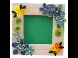 handmade photo frame craft ideas you
