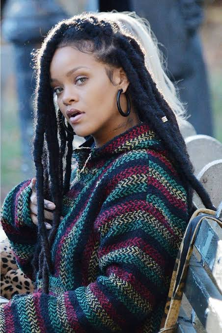 """Image result for rihanna chunky faux locs"""""""