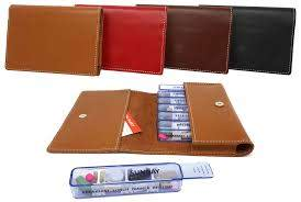 kibodan leather pill case wallet