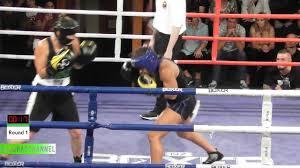 Fight 7: Myra Rogers (63kg) vs Sarin Moddle (66.3kg) - Xmas Bash 14Dec17 -  YouTube