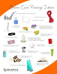 basket gifts chemo care package ideas