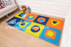 Baby Kids Eva Interlocking Puzzle Mat Foam Tiles Underlayment 60x60 Non Toxic China Eva Mat Puzzle Mat Made In China Com
