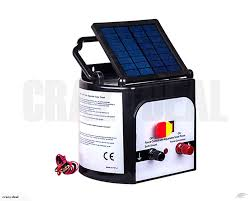 Electric Fence Unit Solar Powered Free Signs 12km Trade Me