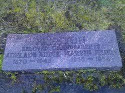 Adelade Addie Robinson Preston (1870-1948) - Find A Grave Memorial