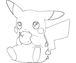 Pokemon Pikachu Coloring Pages Above For You Are Like Clip Art