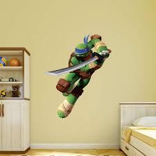 Fathead Teenage Mutant Ninja Turtles Leonardo Wall Decal Leonardo Ninja Turtle Teenage Mutant Teenage Mutant Ninja Turtles