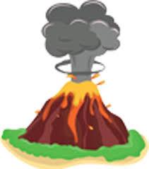 Cute Tropical Nature Island Volcano Cartoon 1 Vinyl Decal Sticker Shinobi Stickers