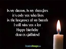 happy birthday wishes for ex girlfriend occasions messages