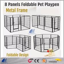 China Heavy Duty Dog Exercise Pen Expandable Pet Fence Pet Playpen China Dog Kennel And Dog Run Price