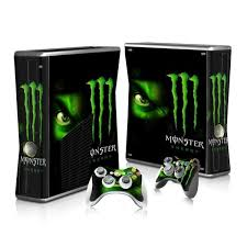 Monster Xbox 360 Skin Xbox 360 Skin Controller Decal Console Skins World