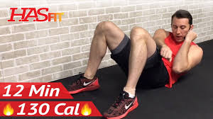 12 minute easy abs and arms workout