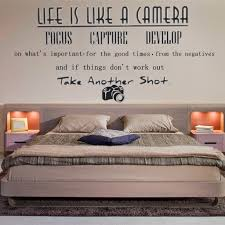 Good Removable Life Like A Camera Wall Quote Butterfly Stickers Home Art Decal Vinyl Shopee Singapore