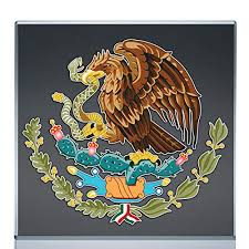 Mexican Coat Of Arms Sticker Decal Mexico Flag Car Truck Vinyl 4 X 3 75 Hargeisait Com