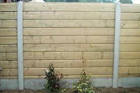 Concrete Fence Slabs For The Garden Price Designs
